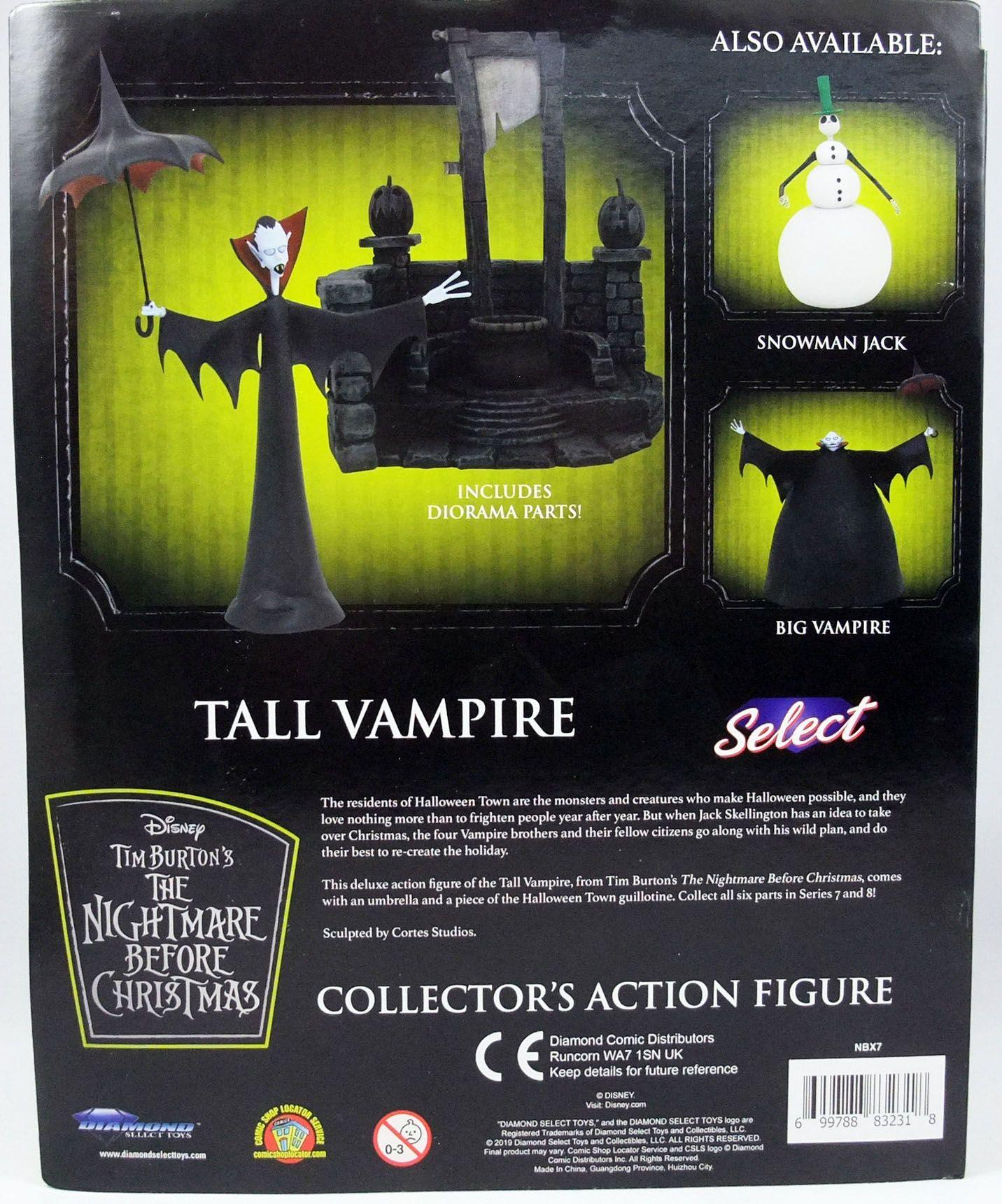 L\'Etrange Noël de Mr Jack - Diamond Select - Tall Vampire
