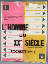 L\'Homme du XX° Siècle  - Board Game by Pierre Sabbagh RTF 60\'s - Complementary Questions Set N°1