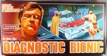 L\'Homme qui valait 3 millards - Jeu de société Capiepa - Diagnostic Bionic