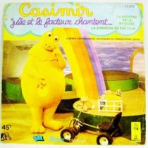 L\'Ile aux Enfants - Casimir - Mini-LP Record - Julie and the postman sings... - Ades Records/TF1 1976