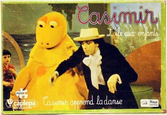 L\'Ile aux Enfants - Puzzle Casimir learn to dance