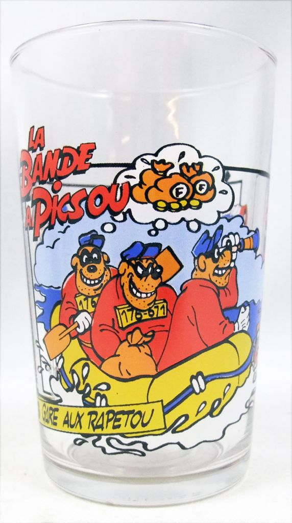 La Bande à Picsou - Verre à moutarde Ducros - N°3 Gare aux Rapetou