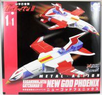 La Bataille des Planètes (Gatchaman) - Future Quest - New God Phoenix - Vaisseau 30cm Métal Action