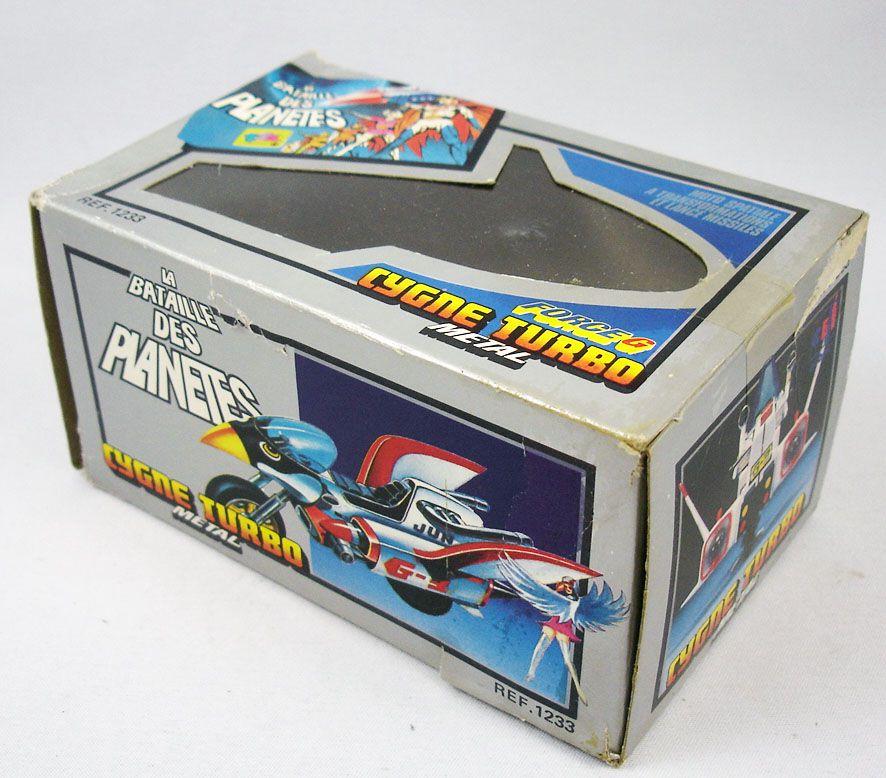 La Bataille des Planètes (Gatchaman) - Popy Ceji Arbois - Swan Bike/Cygne Turbo la Moto de Princesse (loose avec boite)
