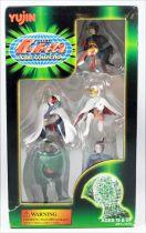 La Bataille des Planètes (Gatchaman) - Yujin - Set de 5 figurines PVC La Force G