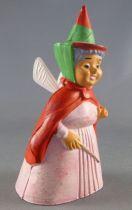 La belle au bois dormant - Figurine Jim - Dame Flora la fée rouge