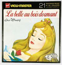 La Belle aux bois dormant - Pochette de 3 Disques View-Master + Récit Complet (GAF)