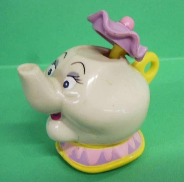La Belle et la Bête - Figurine Prémium McDonald - Madame Samovar