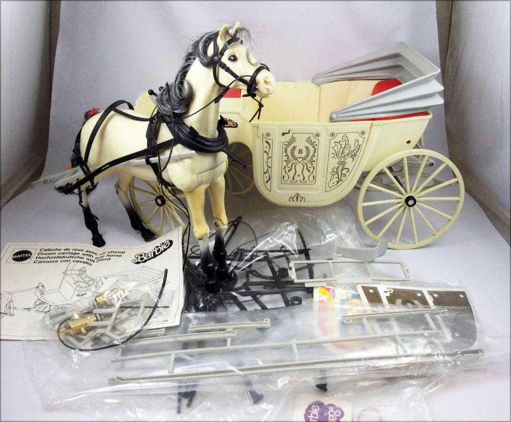 La cal che de r ve de barbie avec un cheval mattel 1982 - Caleche barbie ...