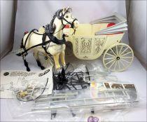 La calèche de rêve de Barbie avec un cheval - Mattel 1982 (ref.5440)