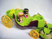 La Citrouille Mystérieuse : le carosse du roi Cedric et de la reine Pétunia (loose)Vulli