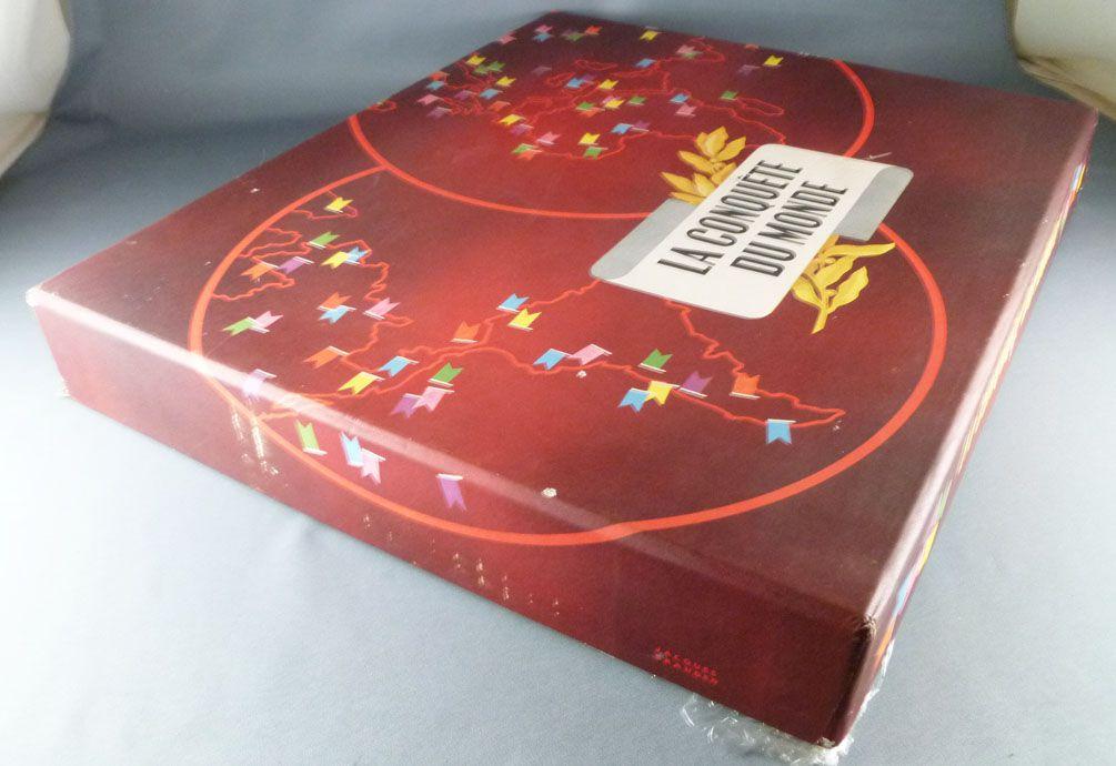 La Conquête du Monde (Risk)  - Board Game - Miro Company 1957 Mint in Box