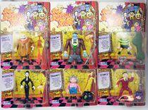 La Famille Addams (Série Animée) - Set de 6 Figurine Playmates : Gomez, Morticia, Lurch, Pugsley, Uncle Fester, Granny
