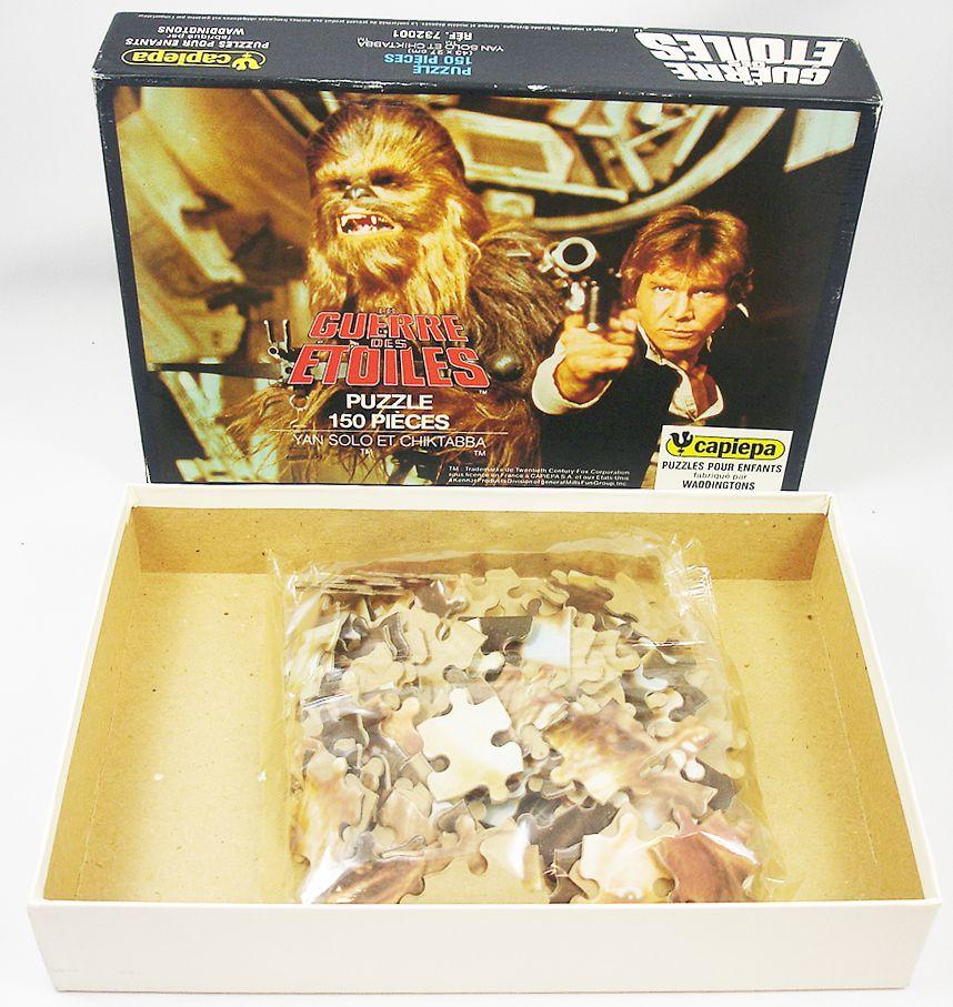 """La Guerre des Etoiles 1978 - Puzzle 150 pièces \""""Yan Solo et Chiktabba\"""" - Capiepa"""