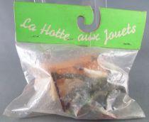 La Hotte aux Jouets Ref #151 - Modern Army - 3 Figures & Accessory Mint in Bag
