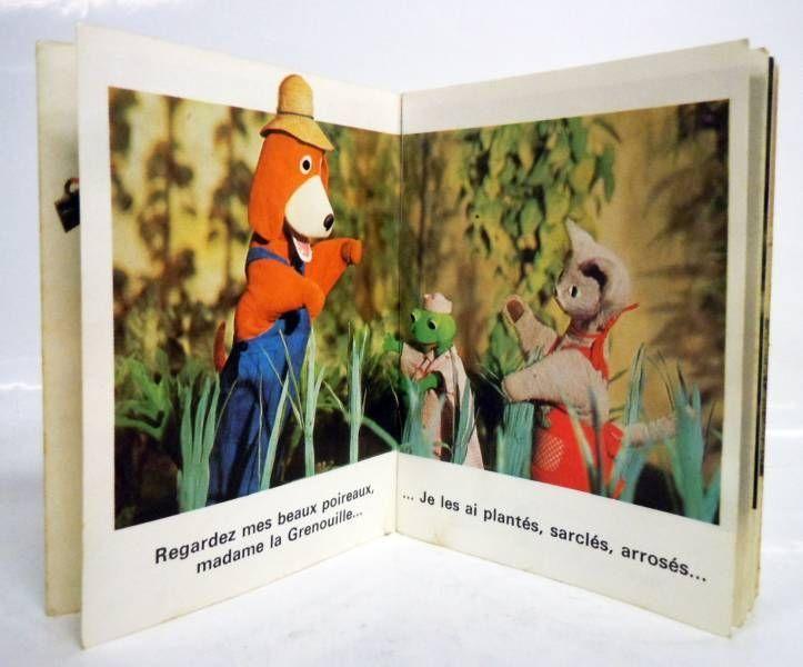 La Maison de Toutou - Merchandising - Mini-Album Editions Gautier-Languereau Toutou a bon coeur - ORTF 1970