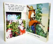 La Maison de Toutou - Merchandising - Mini-Album Editions Gautier-Languereau Toutou jardinier - ORTF 1970