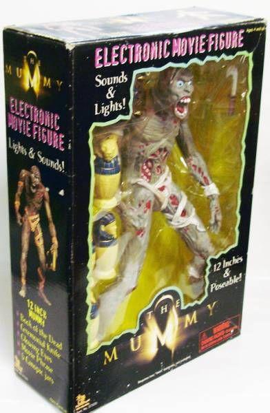 La Momie - Figurine articulée & parlante 30cm - Toy Island 1998