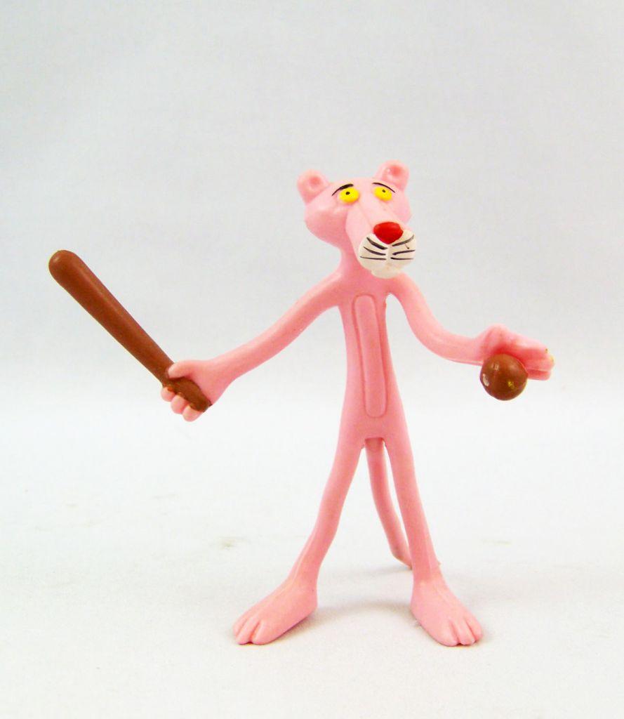 La Panthère Rose - Figurine Flexible San Carlo Promotion - Baseballeur