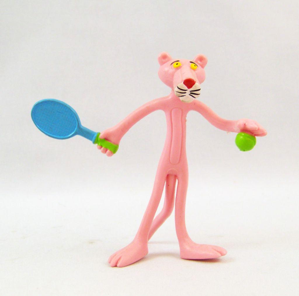 La Panthère Rose - Figurine Flexible San Carlo Promotion - Tennisman