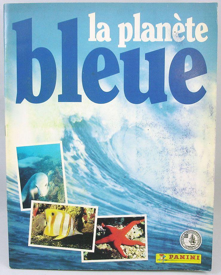 La Planète Bleue (Musée Océanographique de Monaco) - Album Panini 1995