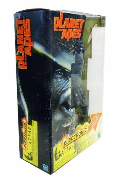 La planète des singes (film de Tim Burton) - Hasbro - Attar Electronique 30cm (neuf en boite)