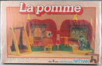 La Pomme - Playset & Figurines - Nathan 1979 Réf 590300 Neuf Boite