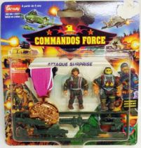 Lansay - Commandos Force - Attaque Surprise avec Médaille de Bronze