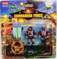 Lansay - Commandos Force - Raid de Nuit II avec Médaille de Bronze