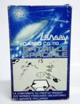 Lansay - LCD Pocket Jeu - Bataille Spaciale (Casio CG-110)