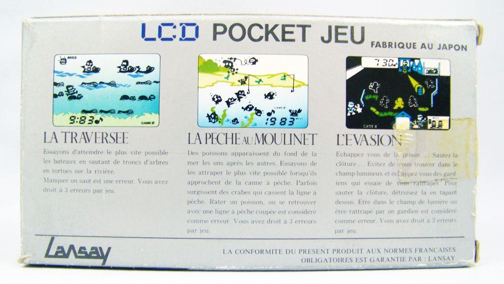 Lansay - LCD Pocket Jeu - La Pêche au Moulinet (occasion en boite) 04