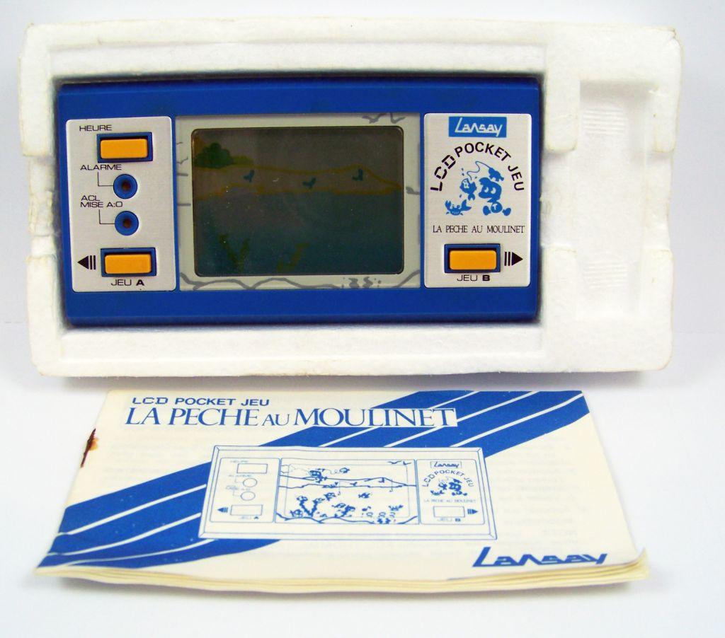 Lansay - LCD Pocket Jeu - La Pêche au Moulinet (occasion en boite) 05