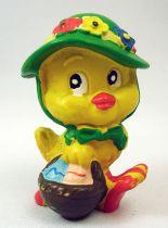 Lapin & Caneton - Figurine PVC Maia Borges - Caneton avec chapeau vert