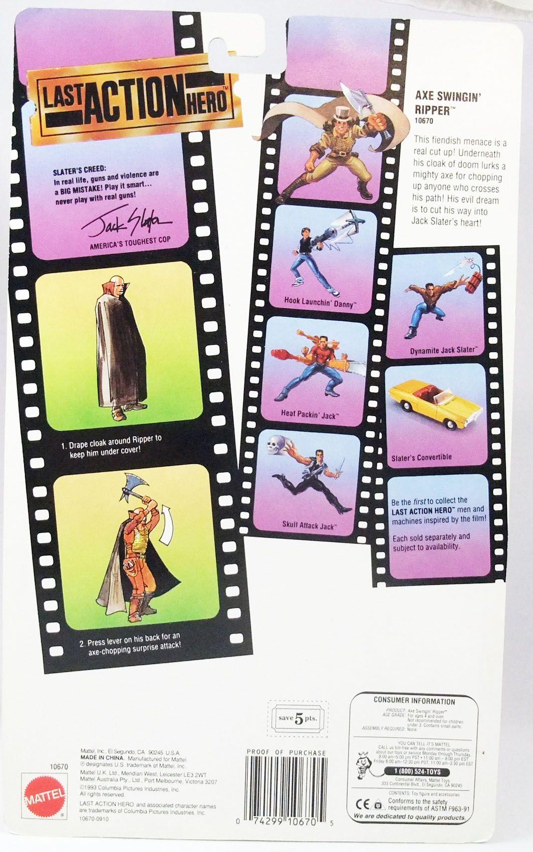 Last Action Hero - Mattel - Axe Swingin\' Ripper