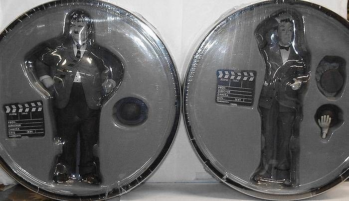 Laurel & Hardy - set of two \'\'Movie Icons\'\' figures