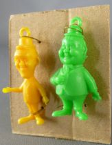 Laurel & Hardy - set of two Monocolor figures