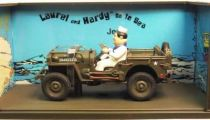 Laurel & Hardy in Jeep go to sea