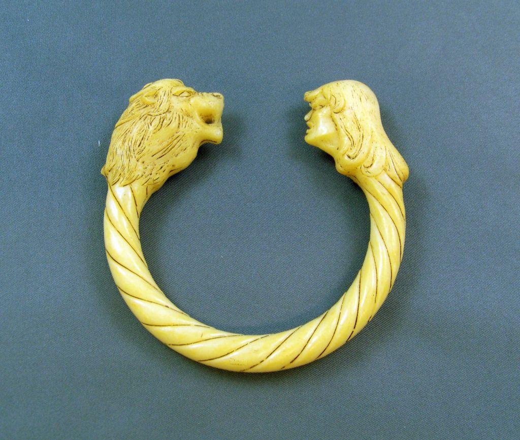 Le bracelet «Courage du Lion» - Rahan (Nouvelle Collection)