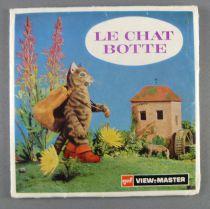 Le Chat Botté - Pochette de 3 View Master 3-D