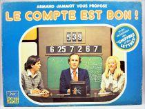 Le compte est bon! - Board Game by Armand Jammot - Jeux Robert Laffont 1979