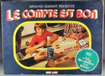 Le compte est bon - Board Game by Armand Jammot - Jeux Robert Laffont