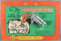 Le Derringer - Marx Toys Miniature Métal Amorce - Neuf sur Carte