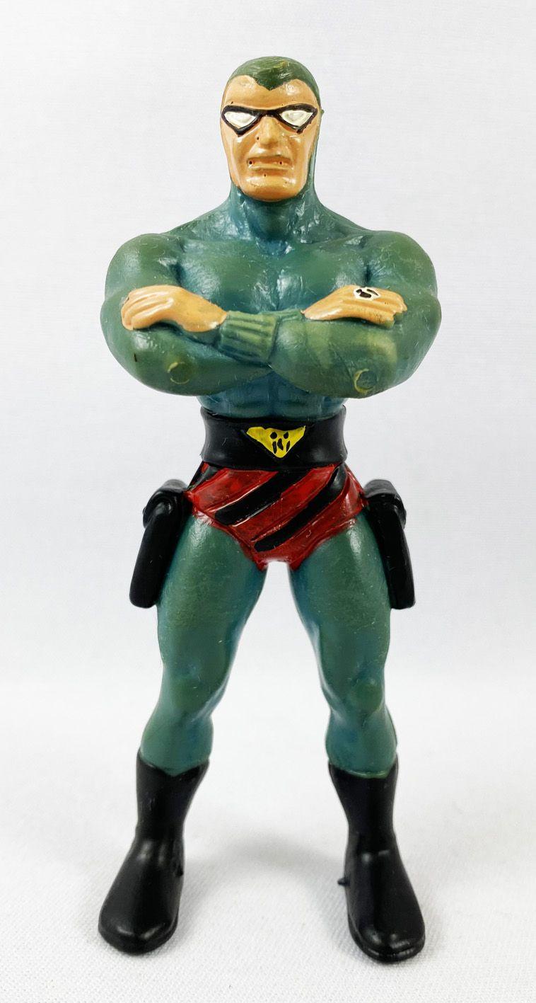 Le Fantôme (Lee Falk) - Figurine PVC Comics Spain - Le Fantôme bras croisés (bleu)