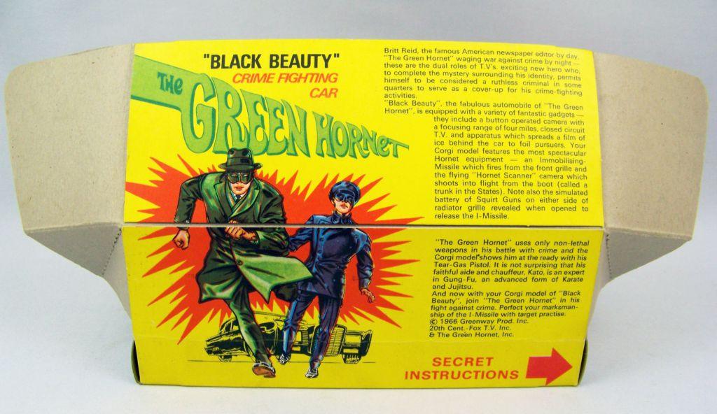 Le Frelon Vert - Corgi 1966 - Black Beauty Ref.268 (Boite avec Display)