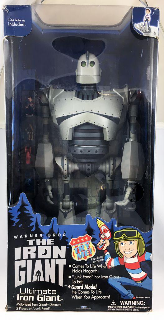 Le Géant de fer (The Iron Giant) - Trendmasters - Figurine 50cm parlante (neuf en boite)