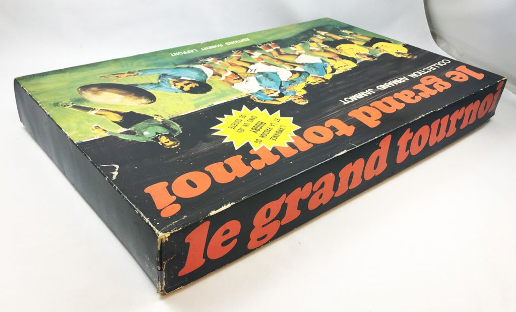 Le Grand Tournoi - Jeu de Plateau de Rugby - Editions Robert Laffont 1969