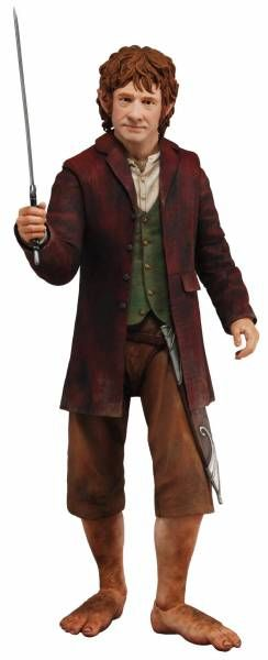 Le Hobbit - Bilbon Sacquet - Figurine echelle 1/4 - NECA