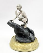 Le Hobbit - Eaglemoss - N°18 Gollum dans les Monts Brumeux (loose)
