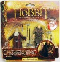 Le Hobbit : Un Voyage Inattendu - Balïn le Nain & Dwalïn le Nain