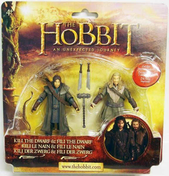 Le Hobbit : Un Voyage Inattendu - Kili le Nain & Fili le Nain